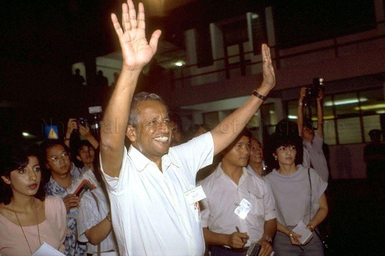1984 General Election JBJ Wins