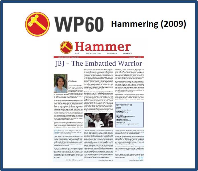 Hammering 2009